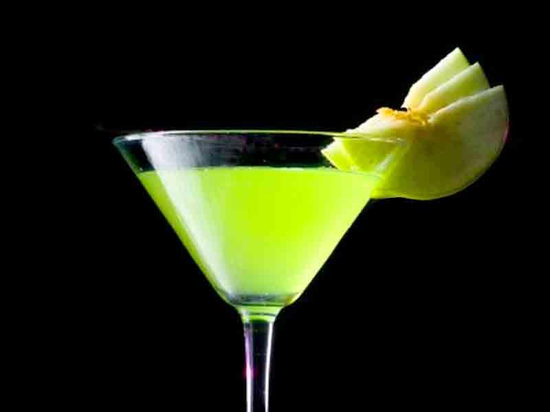 Cóctel Apple Martini