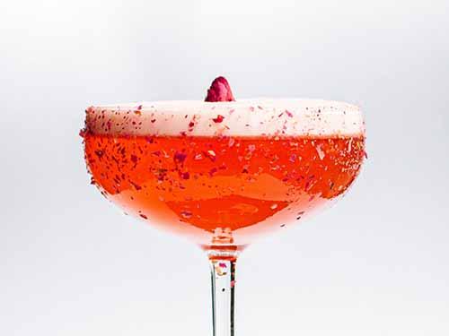 Cóctel French Martini