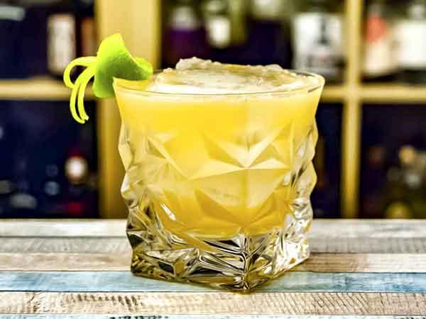 Receta del Cóctel Whiskey Sour